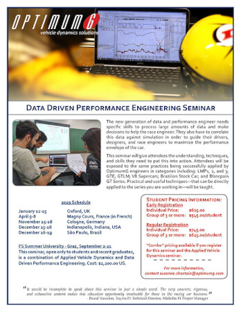 Data Driven Performance Engineering - Students