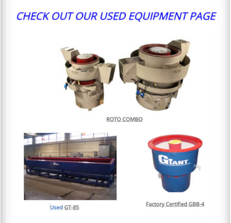 Check out our Used Equipment Page!