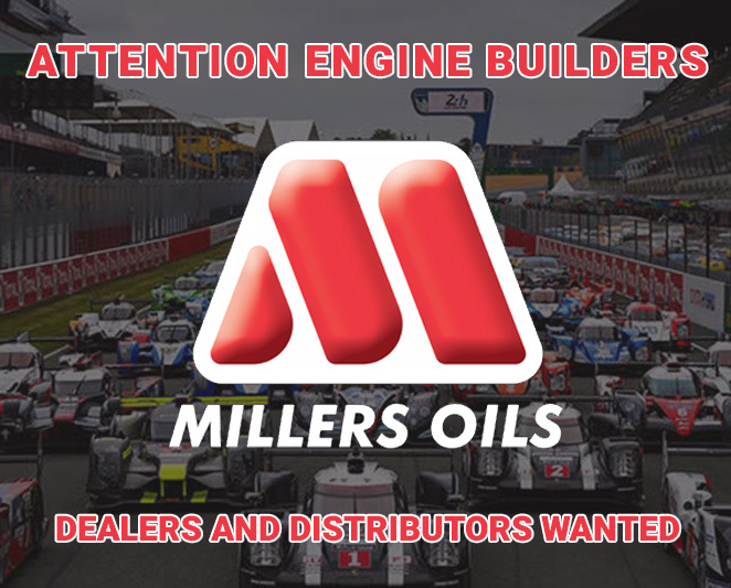 Millers Oils Dealers and Distributors Wanted