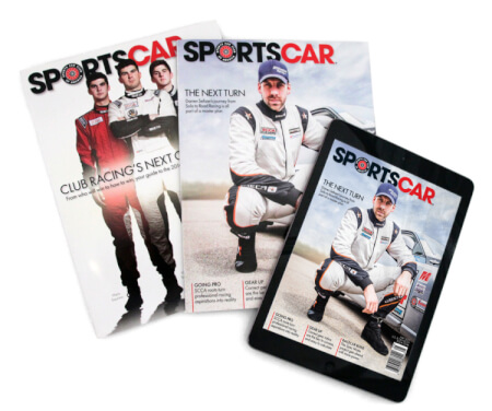 Special Rate Advertising in SportsCar magazine