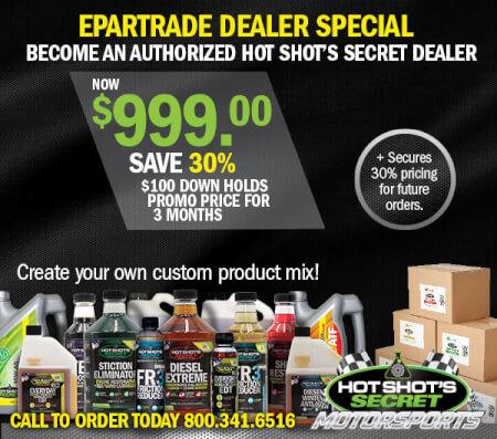 Hot Shot's Secret Authorized Dealer Special