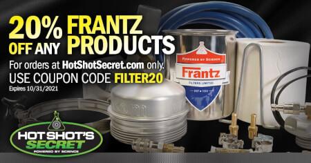 Frantz Filter - 20% off