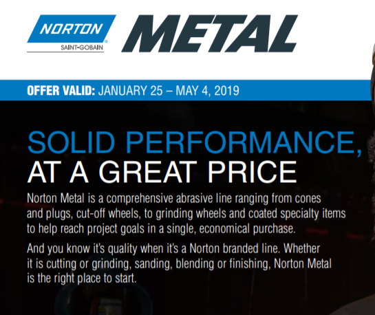 Free Bluetooth Speaker with $350 Norton Metal Purchase