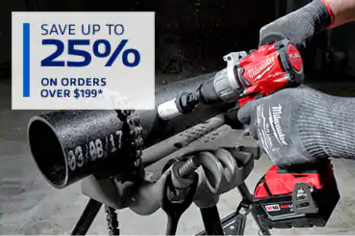 25% Off Orders Over $199
