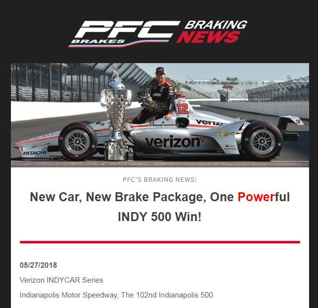 Sign Up for PFC Braking News and Promotions