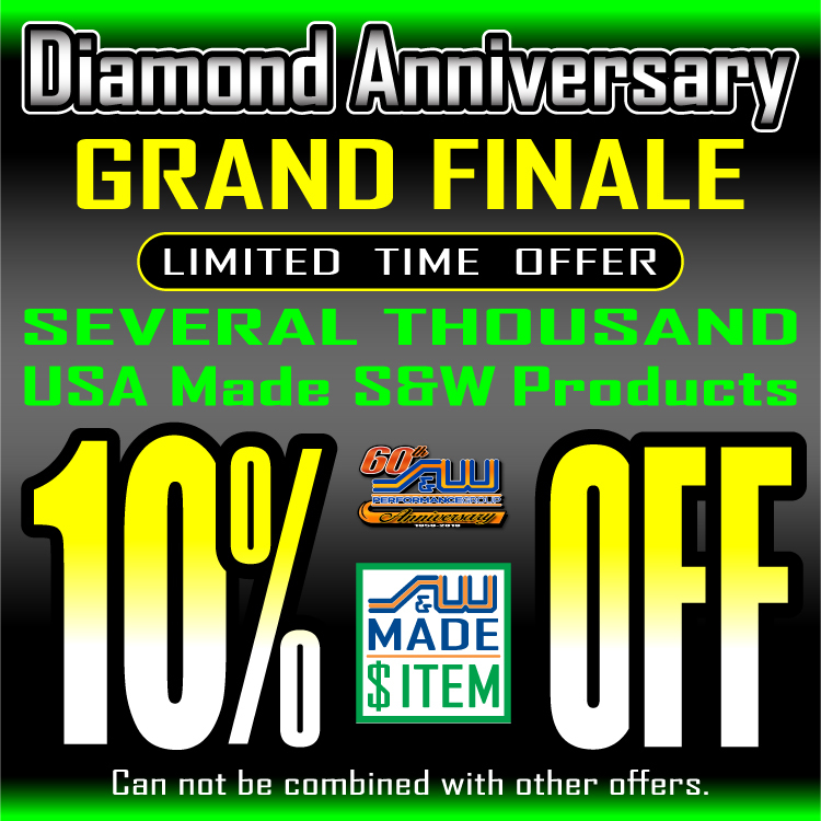10% Off Several Thousand S&W Made Items