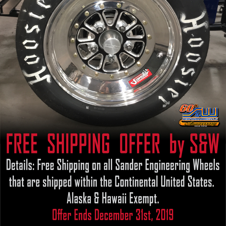 Free Shipping on Sander Wheels Offer by S&W