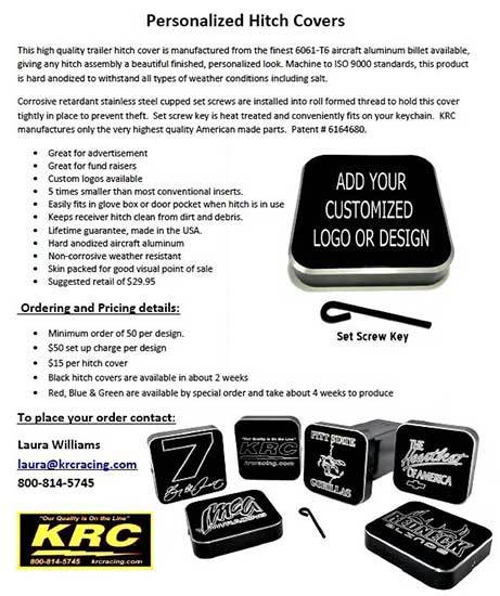 Personalized Hitch Covers