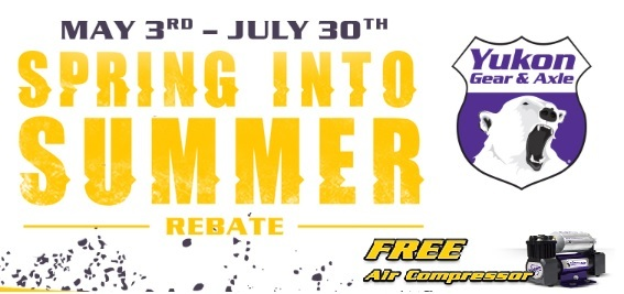 Spring Into Summer Rebate! Free Air Compressor