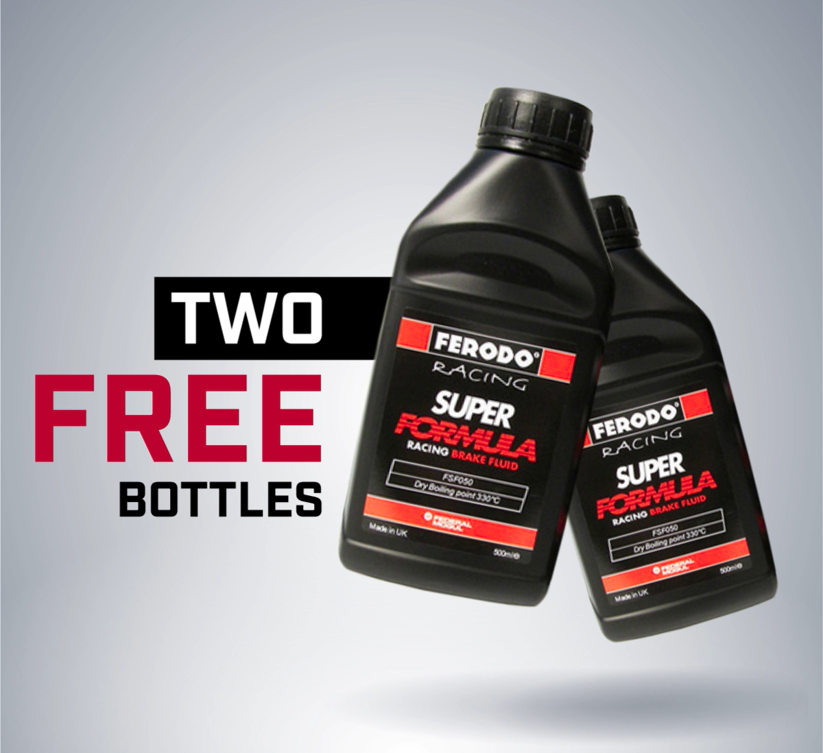 Free Racing Brake Fluid with $100 Purchase