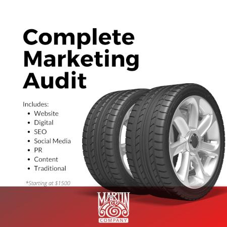 Complete Marketing Audit