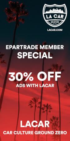 Advertisement Special for Epartrade Members