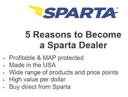 5 Reasons to become a Sparta dealer