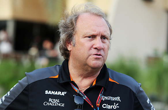 Bob Fernley, from Force India F1 Team, To Head McLaren Racing's 2019 IndyCar Program