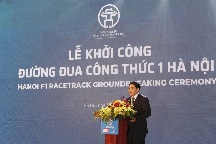 Ground-Breaking Kicks Off Construction Of Vietnam F1 Grand Prix Circuit