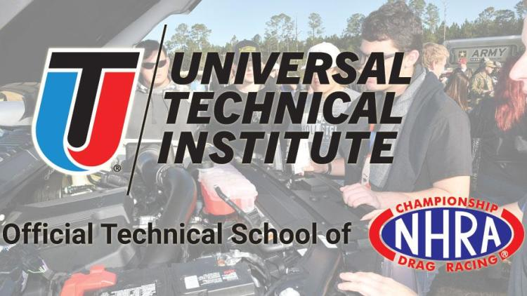 UTI Named Official Technical School Of NHRA