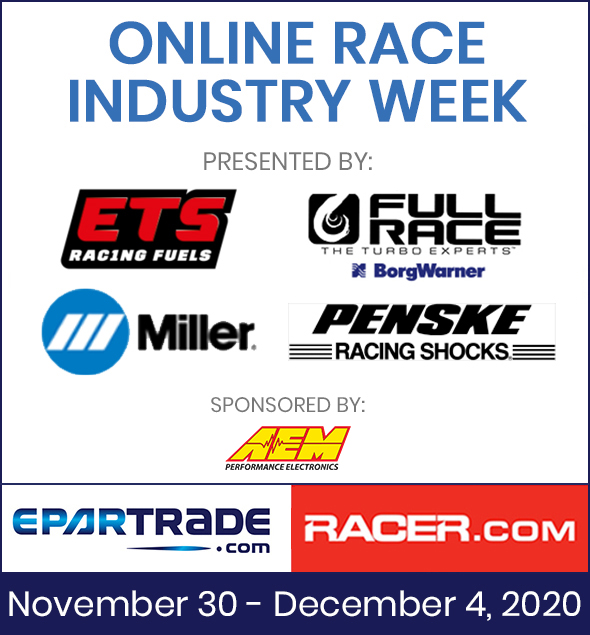 Join Us For Online Race Industry Week, November 30–December 4, 2020 ⠀⠀⠀⠀⠀  See Jam-Packed Schedule!