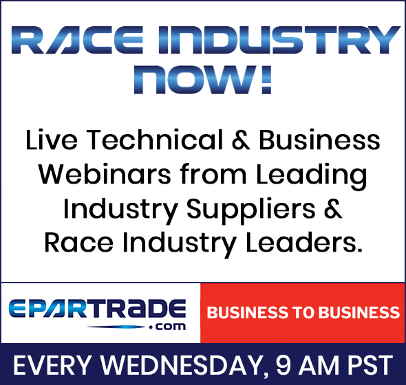 Join us for the next episode of RACE INDUSTRY NOW!