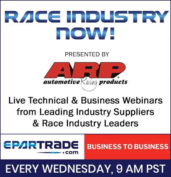 You are in! Welcome to this session of RACE INDUSTRY NOW!