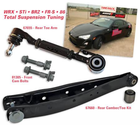 Subaru/Scion/Toyota Suspension Tuning