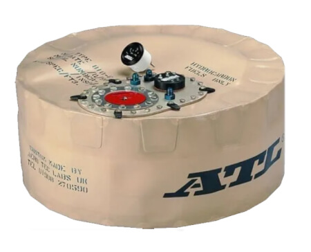 ATL 17 Gallon, Spare Tire Well Fuel Cell