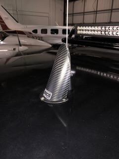 Carbon Fiber Antenna Guards
