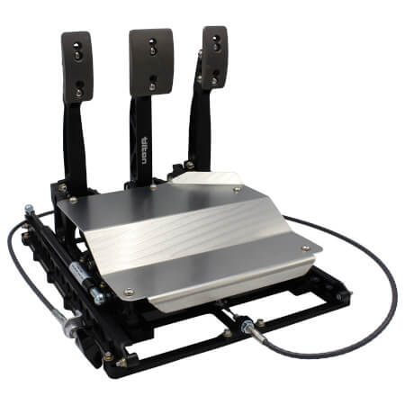 850-Series 3-pedal Underfoot Pedal Assembly w/ Slider System