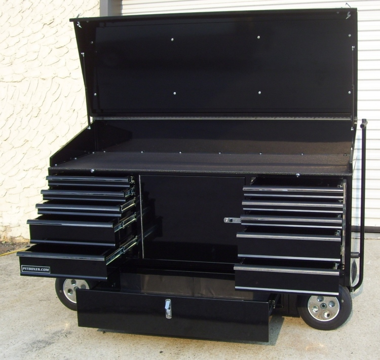 WORKSTATION PITBOX WITH TOP