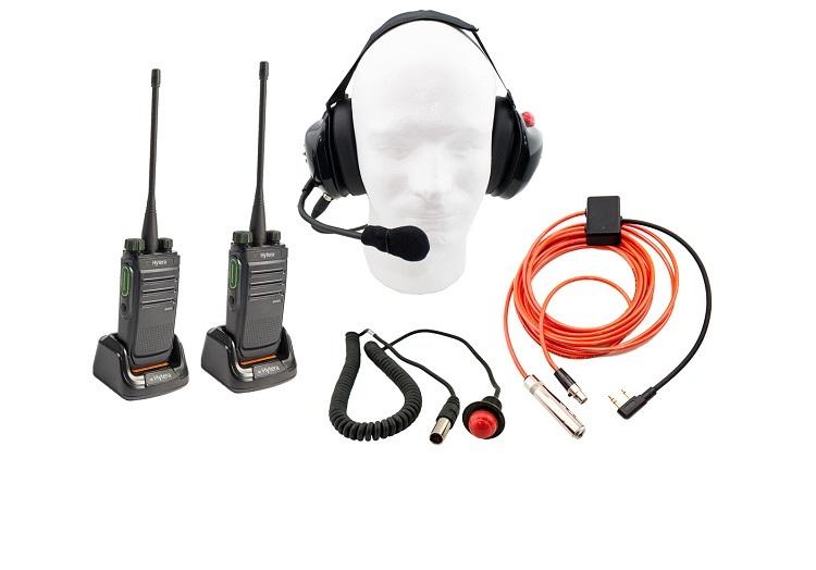 Complete Hytera Race Radio Communication kit