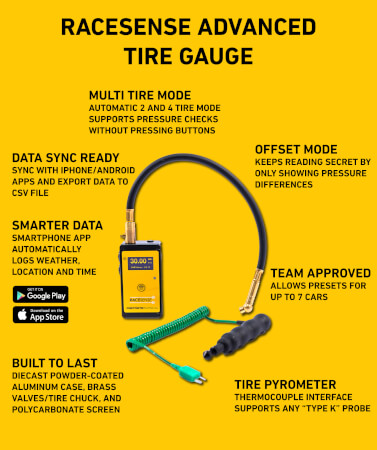 RaceSense Tire Gauge