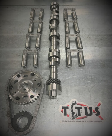 Titus Packages - Valve Train, Rotating Assy, Cylinder Head