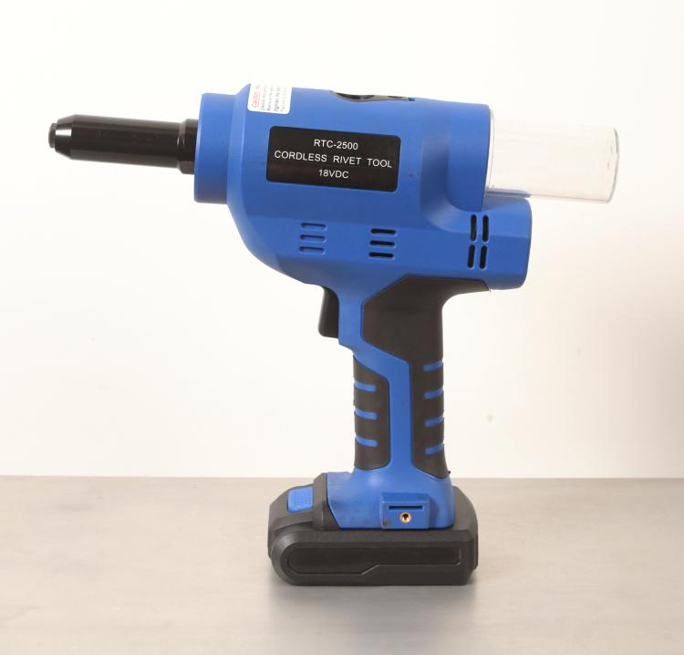 "RTC-2500K 1/4"" Heavy Duty Cordless Rivet Tool Set"