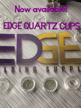 EDGE Quartz TIG Welding Cups (EDGE Q Series)