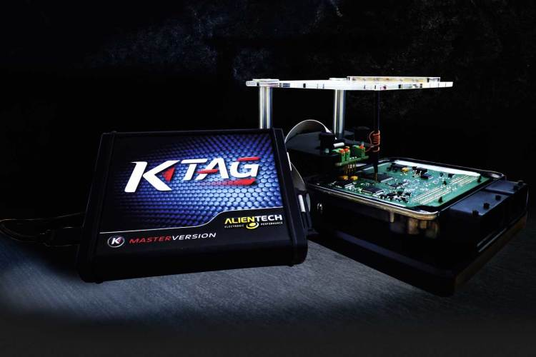 K-TAG - ECU and TCU programmer on bench