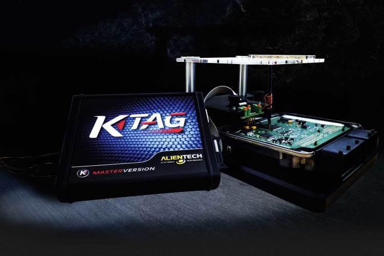 K-TAG - ECU and TCU programmer on bench