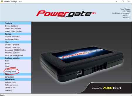 Bosch, Continental and Delphi: new protocols for Powergate!