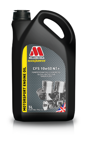 Millers CFS 10w50 NT+ Racing Oil