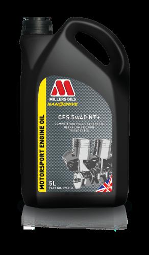 Millers CFS 5W40 NT+ Racing Oil