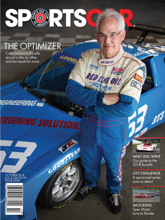 SportsCar, the official publication of the SCCA