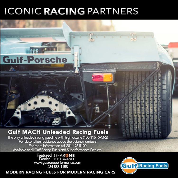 Gulf MACH Unleaded Racing Fuels