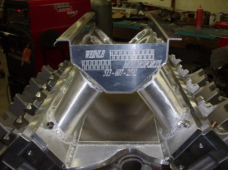 500cid 1500HP Pro Stock Engine
