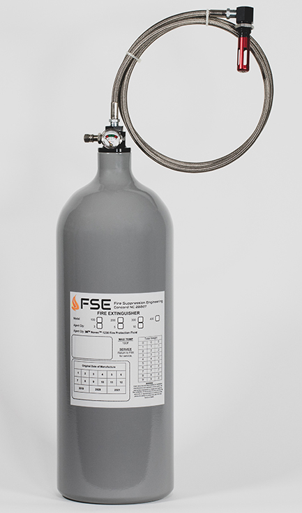 10lb Auto/Thermal Fire Extinguisher - NASCAR design