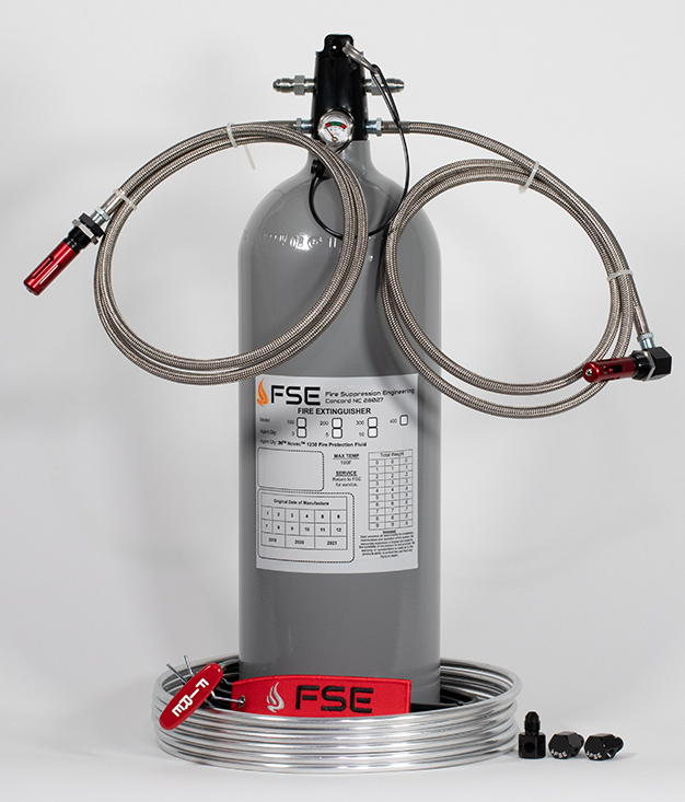 10lb Auto/Manual Fire Extinguisher (Dirt LM/Modifieds)