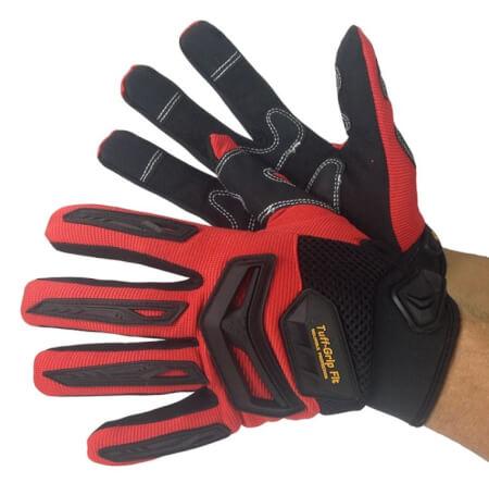 Mechanics Glove Synthetic Double Palm