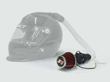 Helmet Blower, 12-17V, 2 Amp, 3.7 ounce
