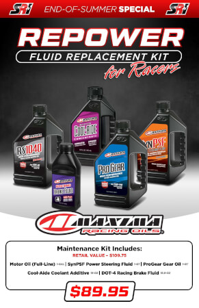 Fluid Replacement Kit for Racers