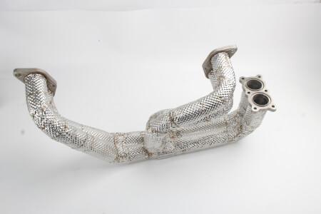 Custom DIY Exhaust Heat Shield For Subaru