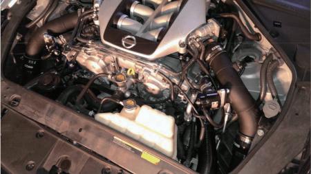 GTR R35 Carbon Fiber Intake Pipe 2.75''ID