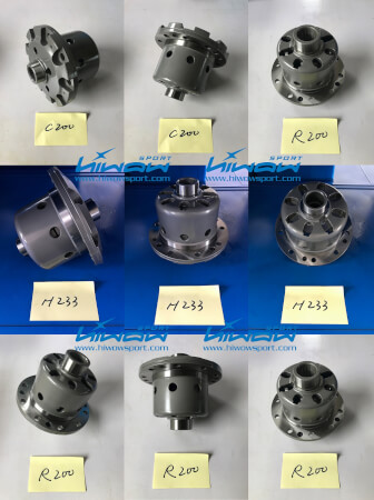 Limited Slip Differential (LSD) Hiwow Sport