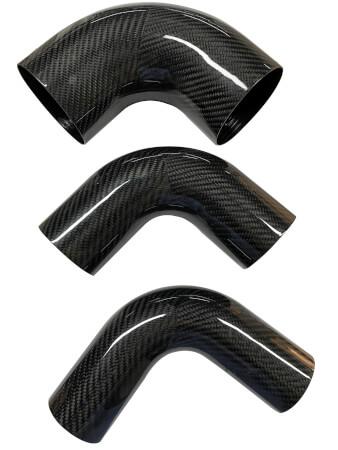 Carbon fiber 45 degree 90 degree elbow Hose